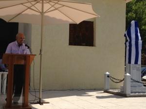 «Ο  Πρόεδρος της Τοπικής Κοινότητας απευθύνει χαιρετισμό»